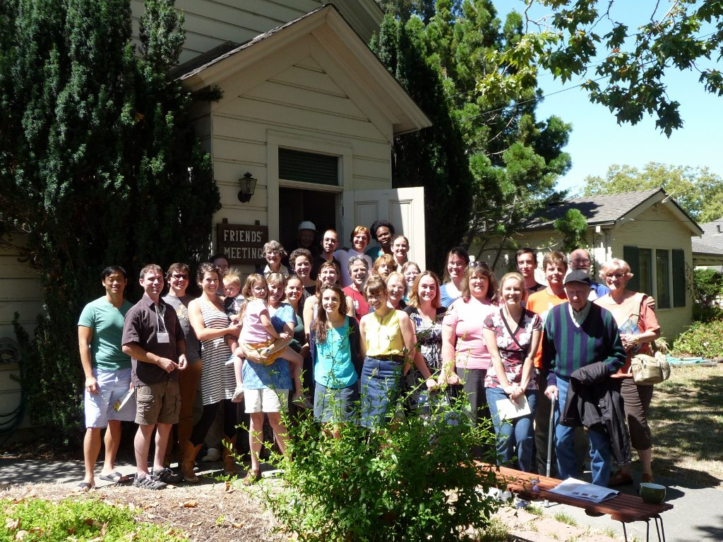 Young Adult Friends Retreat at San Jose Meetinghouse - July 2013