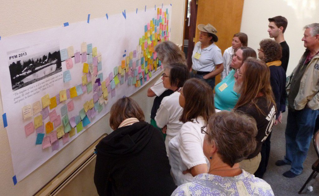 "Reflecting on the ""City on a Hill"" Visioning Mural"
