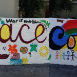 SMFM and SCQM Joint Project - Mural on Quaker   Testimonies