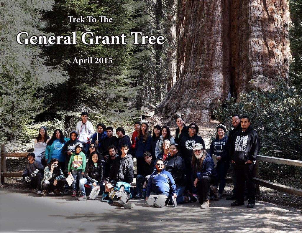 Quaker Oaks Farm Youth Camp Trip to Kings Canyon National Park - April 2015